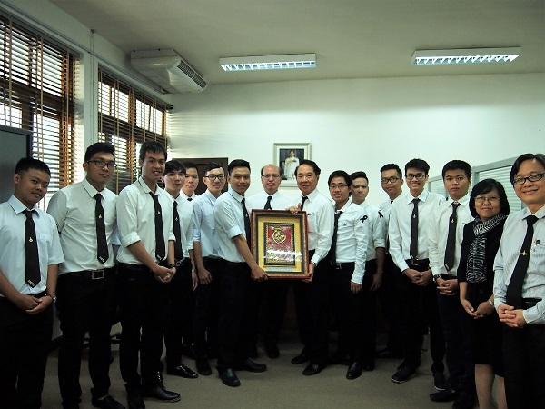 ต้อนรับนักศึกษาแลกเปลี่ยน HCMUTE ประเทศเวียดนาม