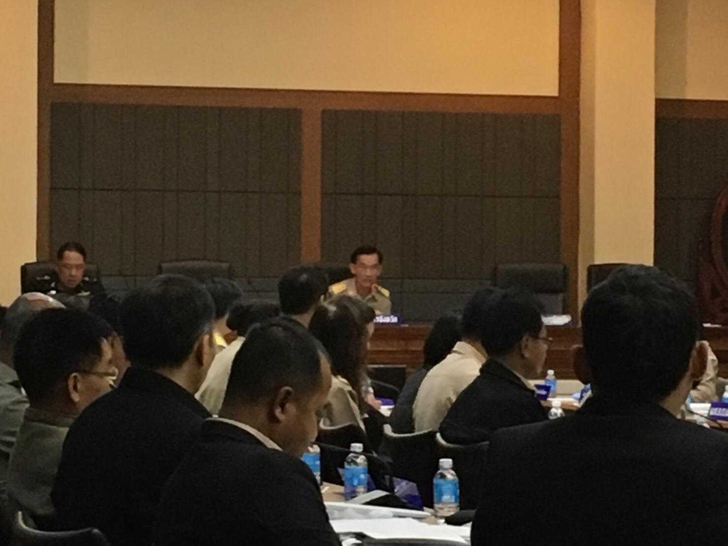 มทร.ล้านนา เชียงราย เข้าร่วมประชุมหัวหน้าส่วนราชการประจำจังหวัดเชียงราย ครั้งที่ 12/2559