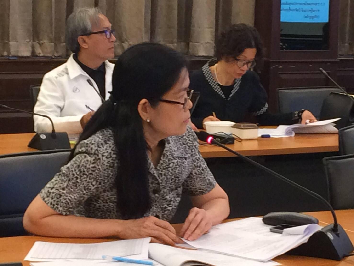 ประชุมคณะกรรมการพัฒนาระบบและกลไกการประกันคุณภาพการศึกษา มทร.ล้านนา  ครั้งที่ 1/2560 (25ม.ค.60)