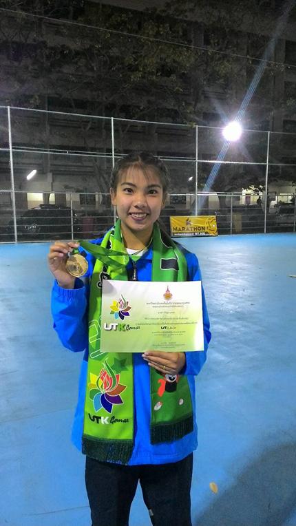 นักกีฬาเซปักตะกร้อ มทร.ล้านนา คว้าเหรียญทองทีมเดี่ยว และเหรียญเงินทีมชุด ในกีฬามหาวิทยาลัยเทคโนโลยีราชมงคลแห่งประเทศไทย ครั้งที่ 33
