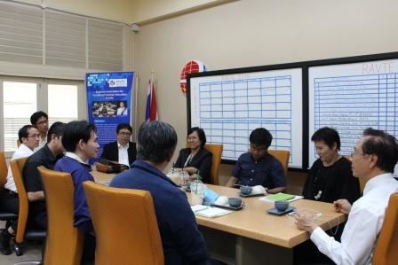 การประชุมแผนการดำเนินงานต่อเนื่องการจัดการศึกษาแบบ CDIO