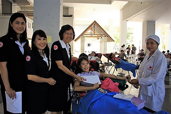 RMUTL Helding Blood Donation Activity