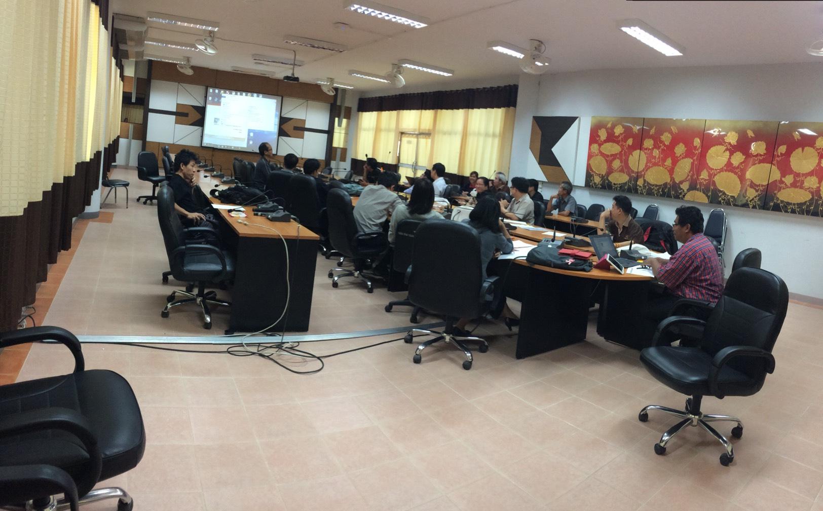 หลักสูตรวิศวกรรมไฟฟ้าจัดประชุมสาขาฯ