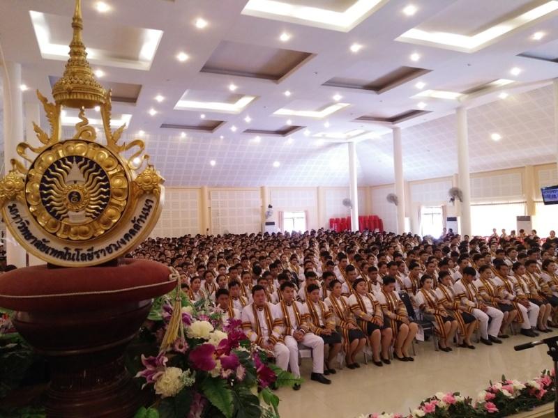 มทร.ล้านนา ลำปาง จัดพิธีแสดงความยินดี และพิธีฝึกซ้อมย่อย รับพระราชทานปริญญาบัตร ปีการศึกษา 2558 อย่างยิ่งใหญ่อลังการ