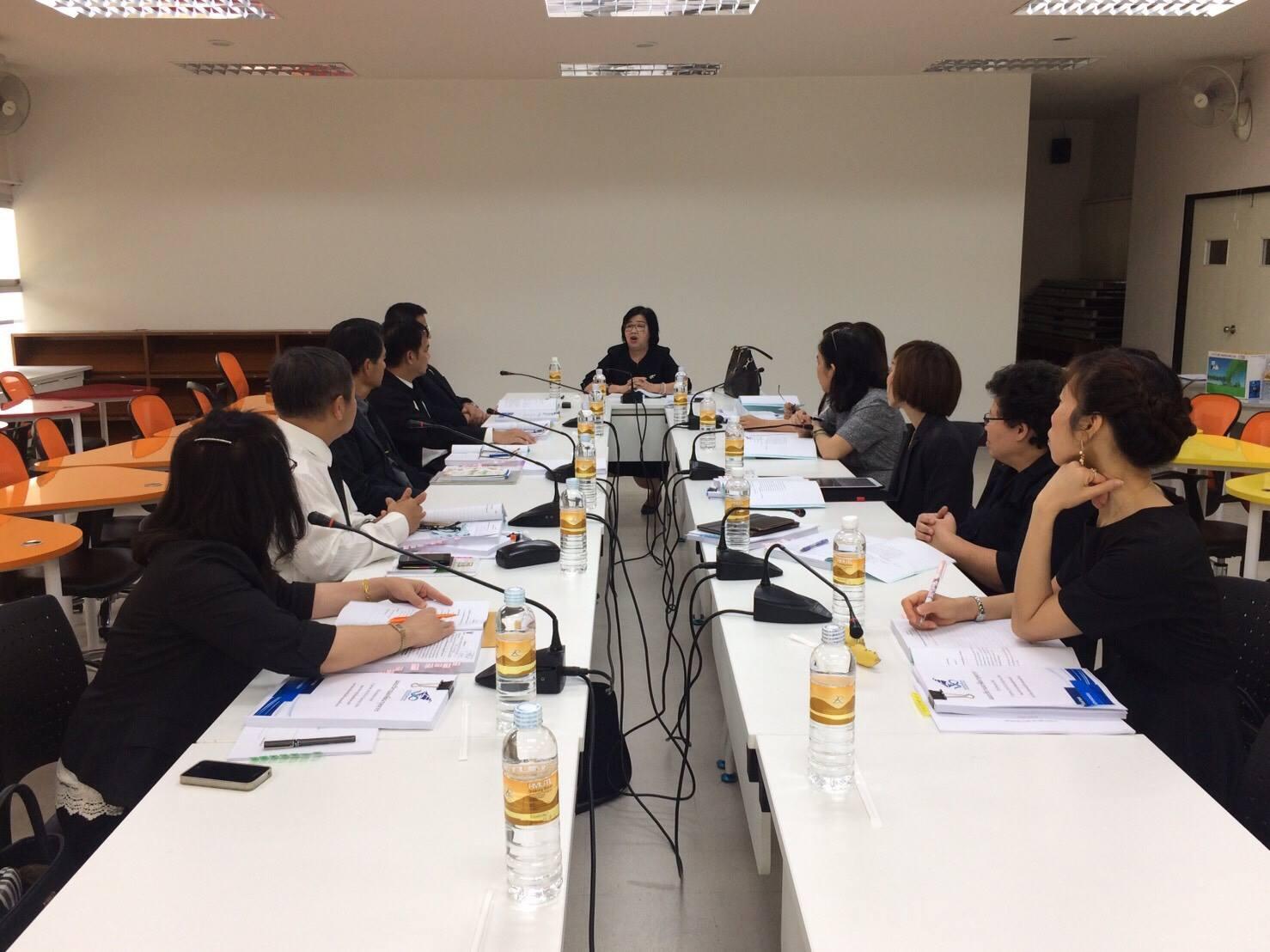 การประชุมคณะกรรมการประจำคณะบริหารธุรกิจและศิลปศาสตร์ ครั้งที่ 91 (3/2560)