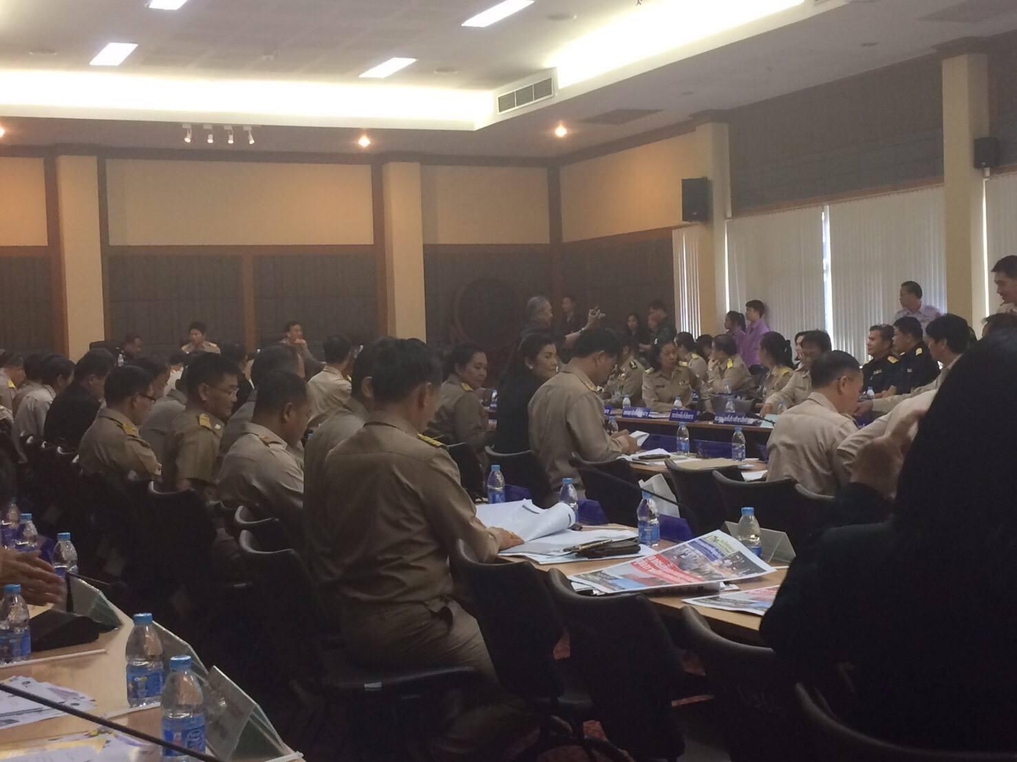 มทร.ล้านนา ชร.ข้าร่วมการประชุมหัวหน้าส่วนราชการประจำจังหวัดเชียงราย ครั้งที่ 3/2560