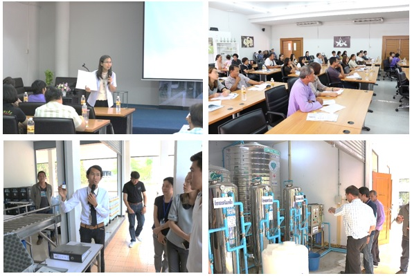 สถาบันถ่ายทอดเทคโนโลยีสู่ชุมชนร่วมจัดการประชุมผู้ประกอบการผลิตน้ำดื่มในเขตอำเภอดอยสะเก็ด