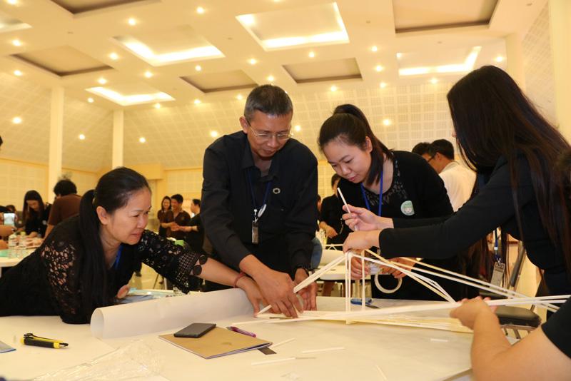 มทร.ล้านนา ลำปาง จัดโครงการพัฒนาศักยภาพเครือข่ายอุดมศึกษาพี่เลี้ยง STEM Education บูรณาการความรู้ระหว่างศาสตร์ร่วมกับสถานศึกษาเครือข่ายในจังหวัดลำปาง