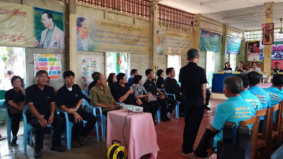 สวก.ลำปาง นำทีมงานเข้าร่วมเป็นที่ปรึกษาให้กลุ่มวิสาหกิจชุมชนฮักน้ำจาง ในการเข้าร่วมการประกวดวิสาหกิจชุมชนดีเด่น ระดับเขต (ภาคเหนือ)