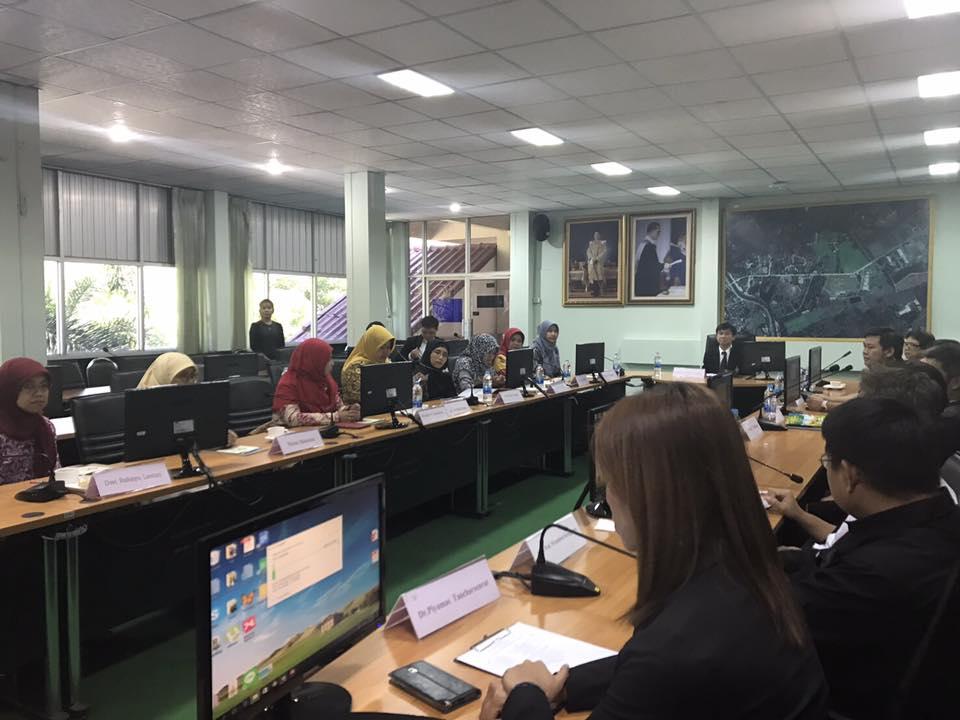 การประชุมร่วมกับผู้แทนจาก Universitas Pendidikan Indonesia ประเทศอินโดนีเซีย