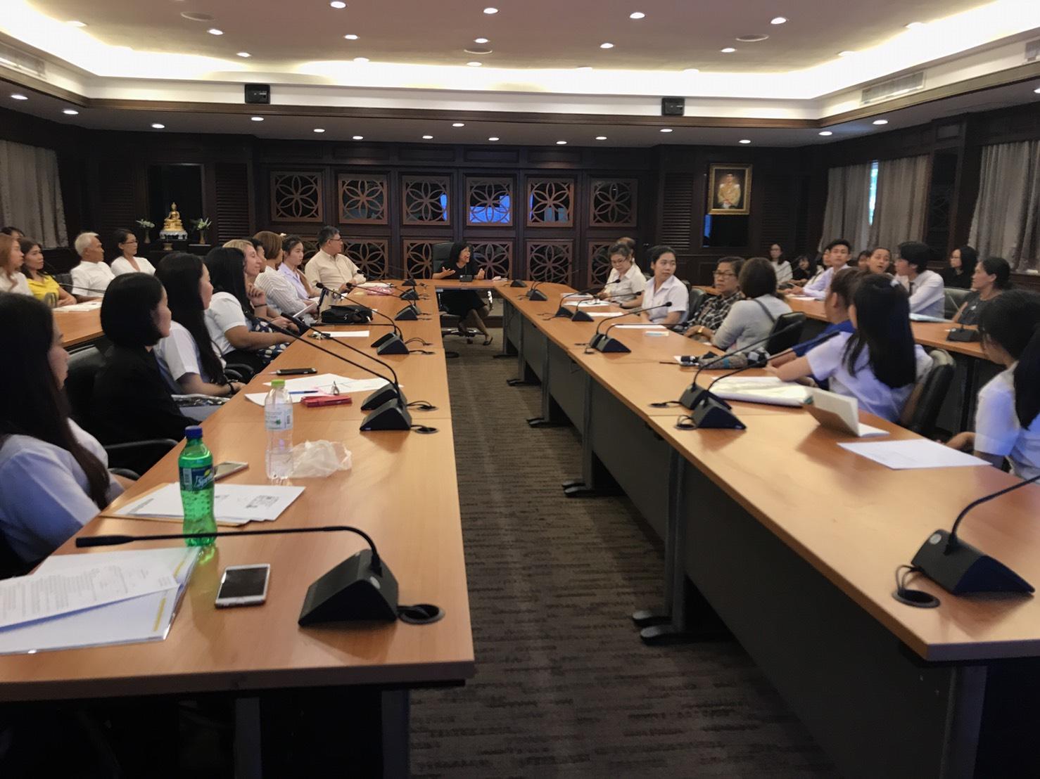 การประชุมเตรียมความพร้อมสำหรับนักศึกษาที่ได้รับทุนการศึกษาเข้าร่วมโครงการ TFI SCALE 2017 (LEX) ณ Singapore Polytechnic ประเทศสิงคโปร์