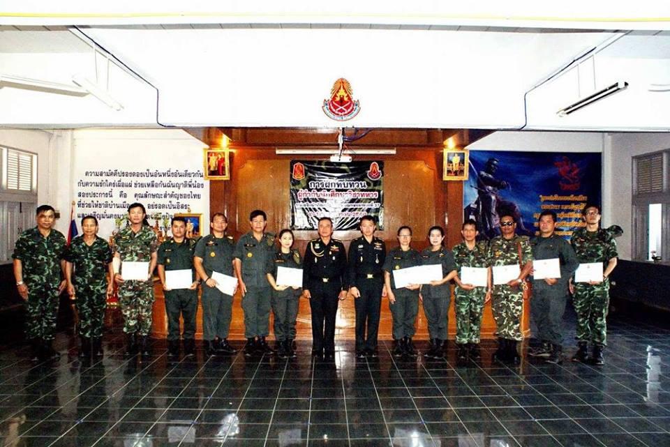 มทร.ล้านนา เชียงราย เข้าร่วมการฝึกทบทวนผู้กำกับนักศึกษาวิชาทหาร60