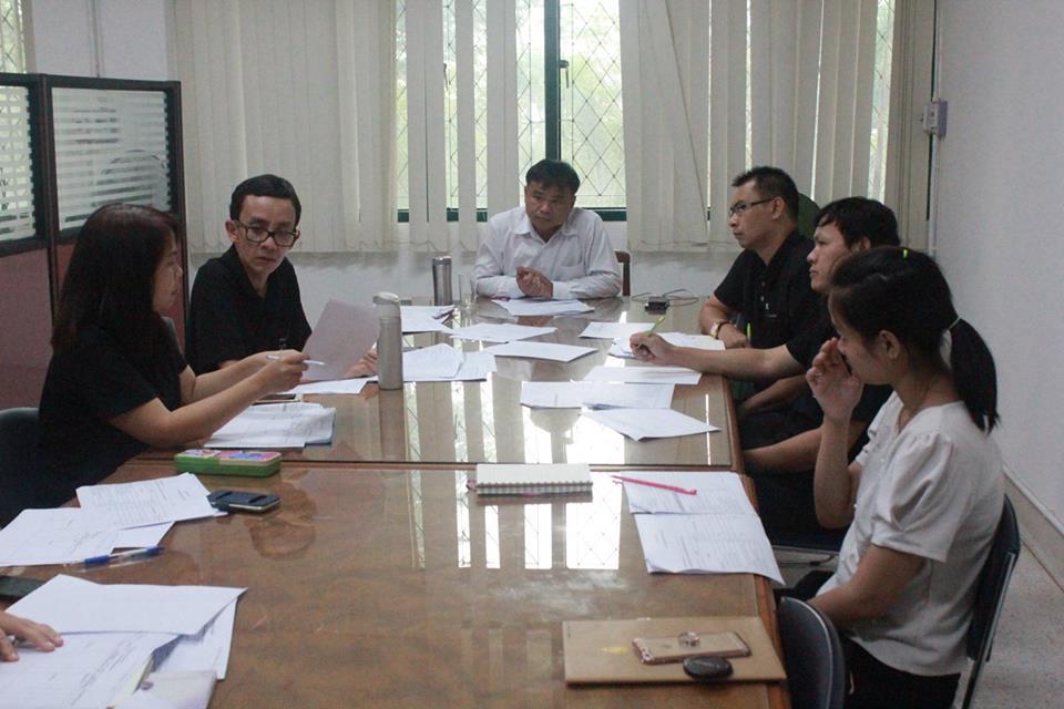 การประชุมการควบคุมภายในและการบริหารความเสี่ยง 2560