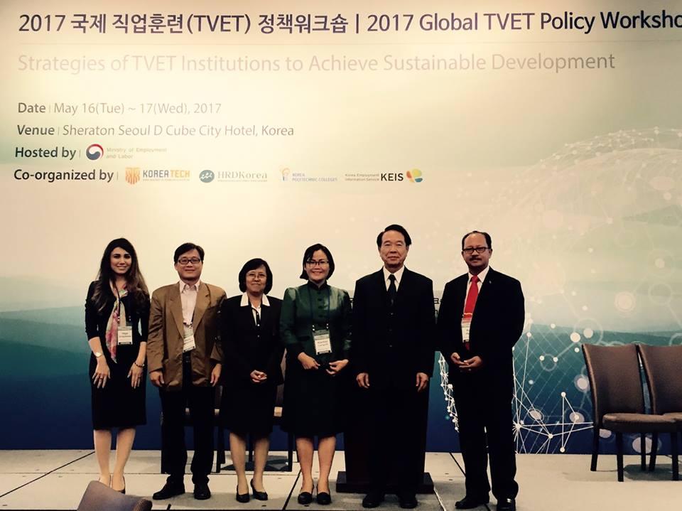 การประชุมสัมมนา 2017 Global TVET Policy Workshop ณ ประเทศเกาหลีใต้
