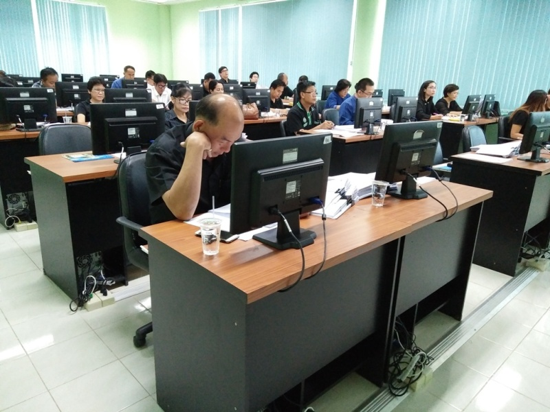 ประชุมการอนุมัติผลการเรียน ภาคเรียนที่ 2 ปีการศึกษา 2559