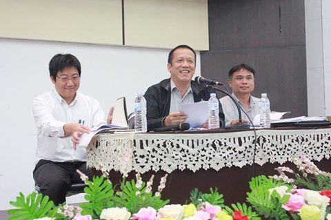 ประชุมรับฟังนโยบายการบริหารงานและแนวทางการจัดการเรียนการสอน1/2560