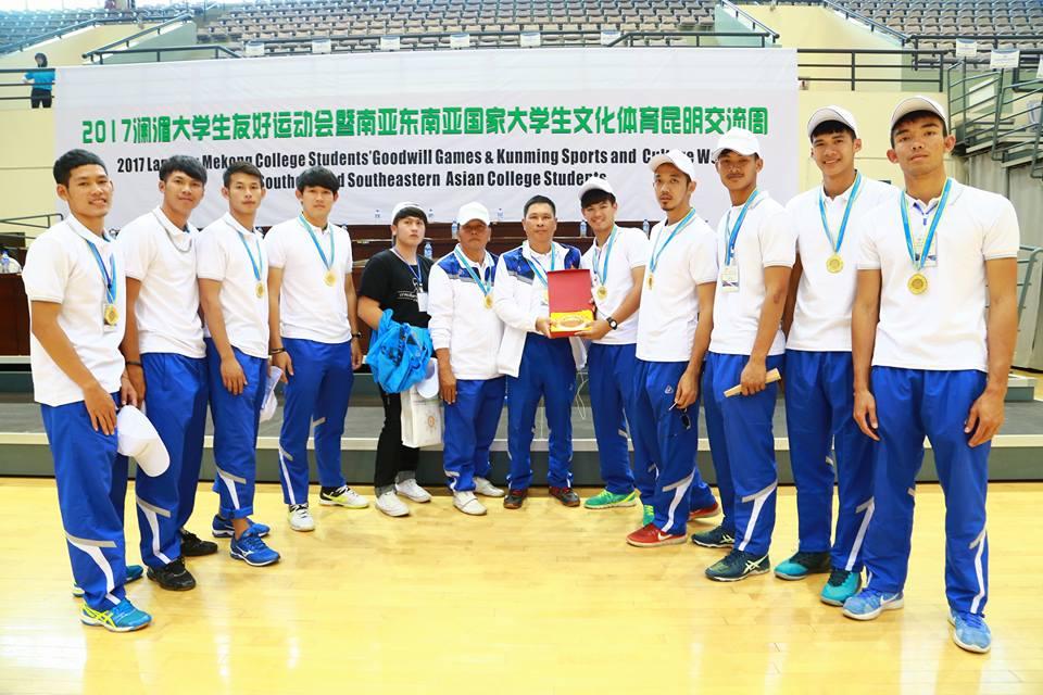 มหาวิทยาลัยเทคโนโลยีราชมงคลล้านนา  คว้ารางวัลชนะเลิศอันดับ 1  จากการแข่งขันกีฬาวอลเลย์บอลชาย ในรายการ  The 1st Lantsang-Mekong College Student Sports Meeting and The 3rd South and Southeast Asia College Student Culture and Sports Week-Kunming