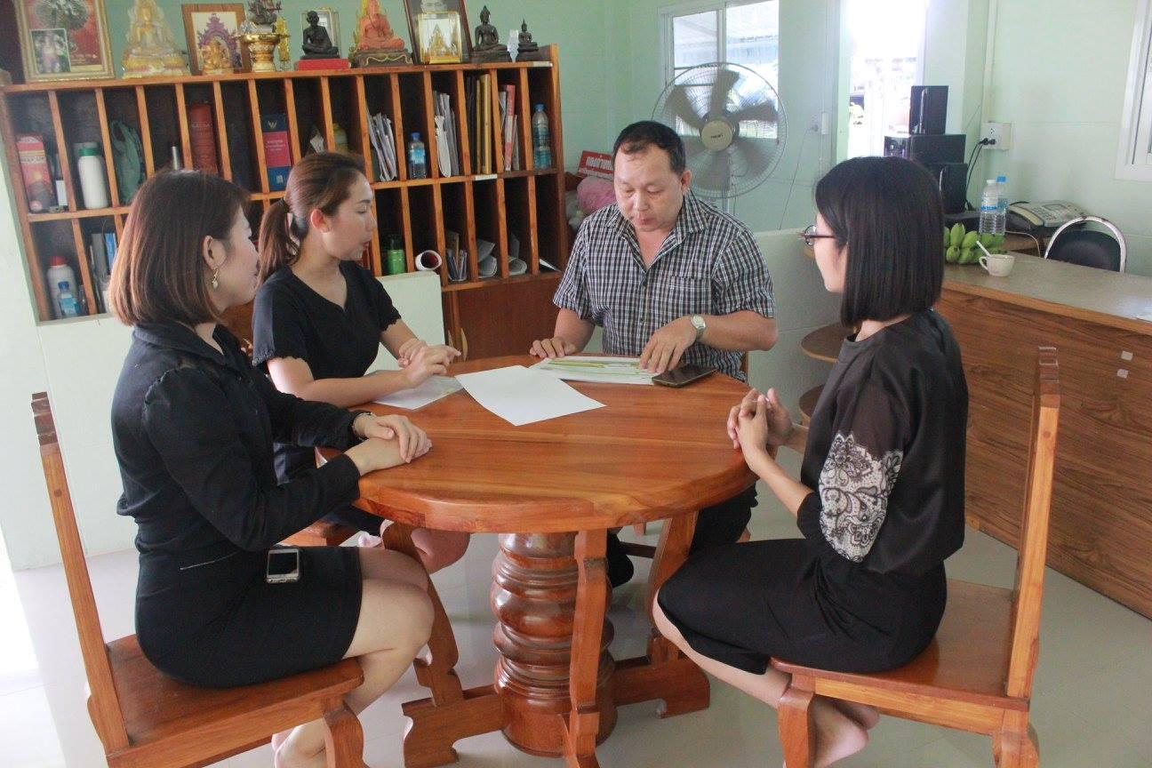 ประชาสัมพันธ์โครงการอบรมใบขับขี่ให้กับกำนัน ผู้ใหญ่บ้าน ใน อ.พาน