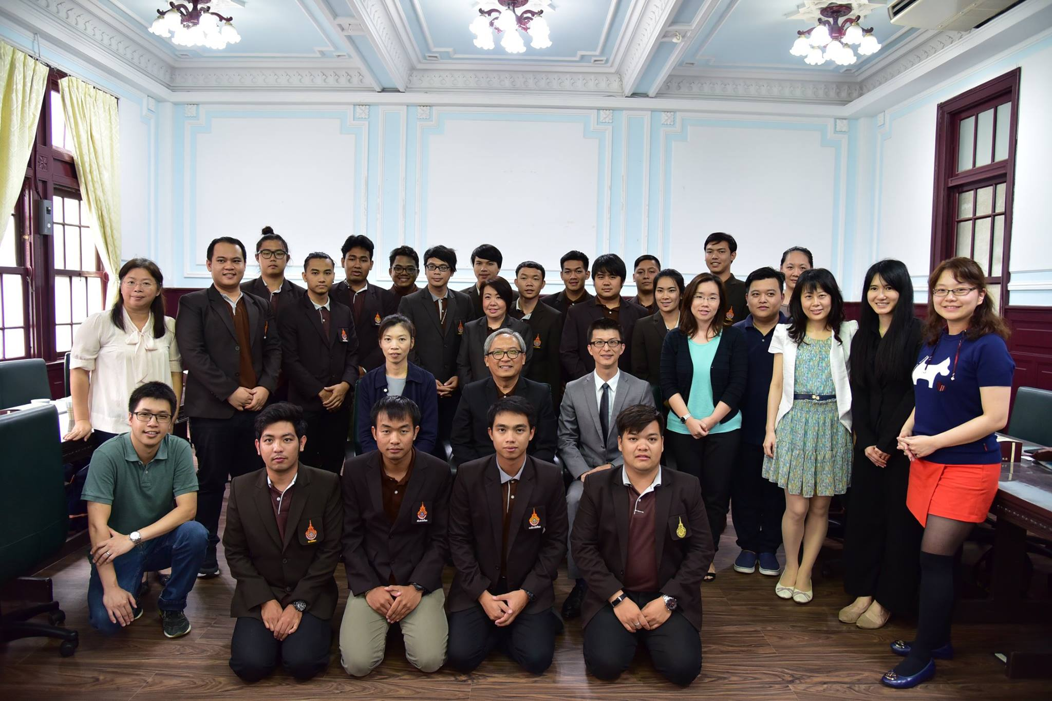 RMUTL Students Council opens the vision for educational exchange and learning activities of students in the University of Taiwan