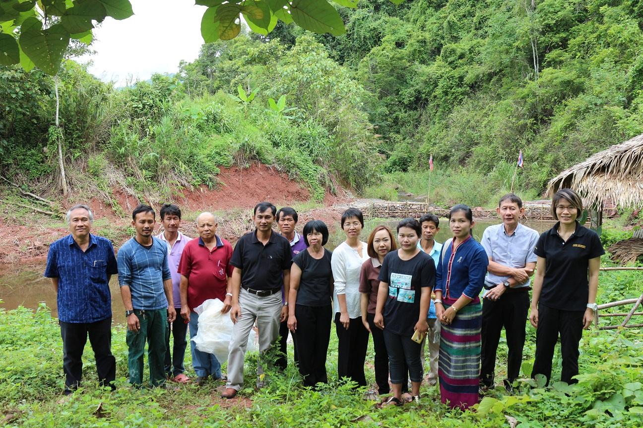 ติดตามความก้าวหน้าโครงการยกระดับคุณภาพชีวิตของหมู่บ้าน ชุมชน แบบมีส่วนร่วม กรณีหมู่บ้านห้วยหาด ตำบลอวน อำเภอปัว จังหวัดน่าน ปี 2560