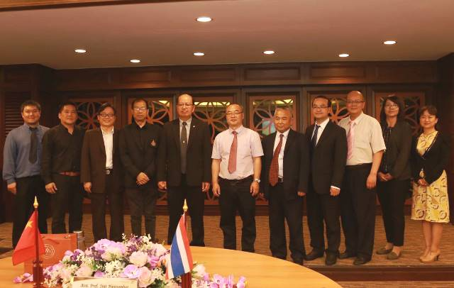 การประชุมร่วมกับคณะผู้แทนจาก Kunming University of Science and Technology