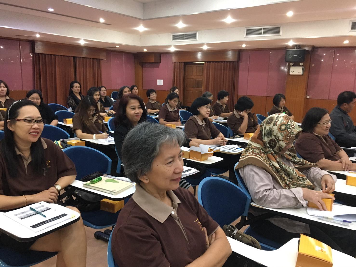 การอบรมสัมมนาเสริมสร้างความรู้ความเข้าใจเกณฑ์การประกันคุณภาพการศึกษา ระดับหลักสูตรและสถาบัน