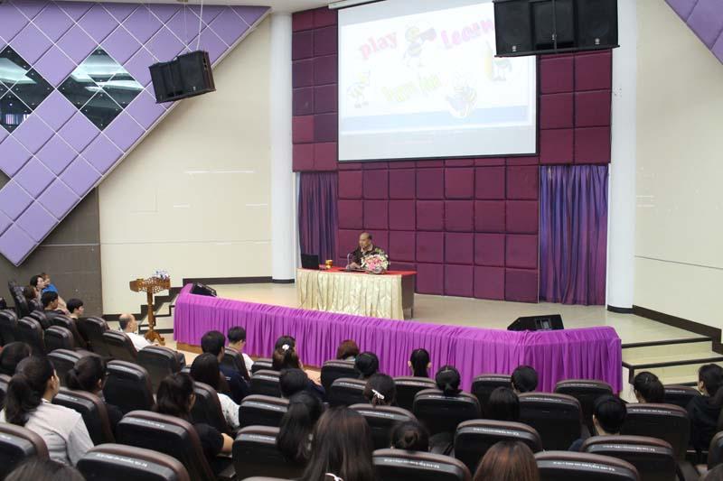 มทร.ล้านนา ลำปาง จัดโครงการค่ายภาษาอังกฤษ ประจำปี 2560  บูรณาการกิจกรรมฐานทักษะ สร้างแรงจูงใจในการเรียนภาษาอังกฤษ