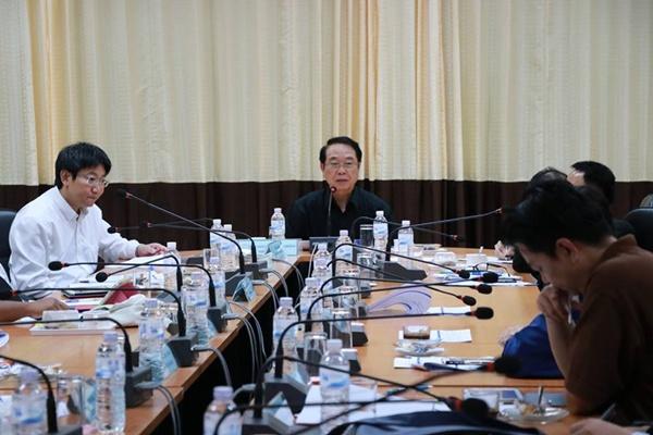 ประชุมติดตามการดำเนินโครงการพัฒนาเครือข่ายพี่เลี้ยงอุดมศึกษา