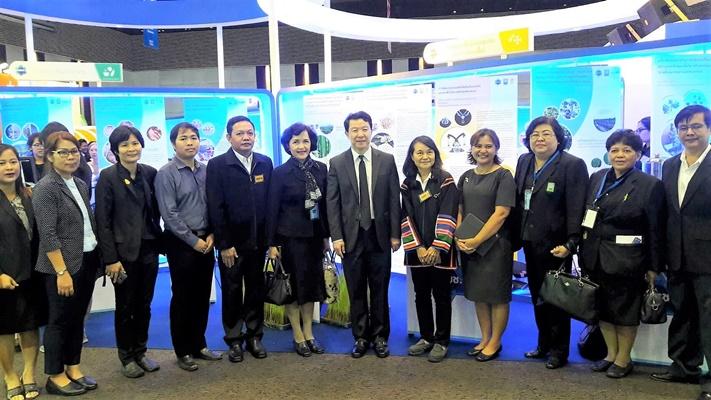 ผศ.ดวงพร นำเสนอผลงานวิจัยในงาน Thailand Research Expo 2017
