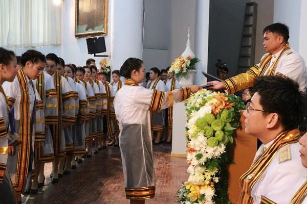พิธีซ้อมรับพระราชทานปริญญาบัตรแก่ผู้สำเร็จการศึกษาปีการศึกษา 2559