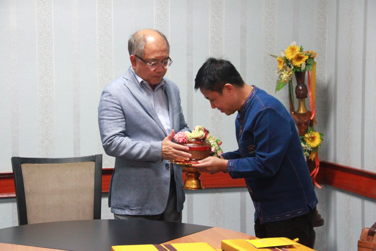 ผศ.ประพัฒน์ เชื้อไทย รักษาราชการแทนอธิการบดีฯ เข้าพบผู้ว่าราชการจังหวัดพิษณุโลก