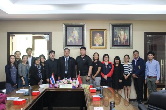 การประชุมร่วมกับผู้แทนจาก Singapore Polytechnic