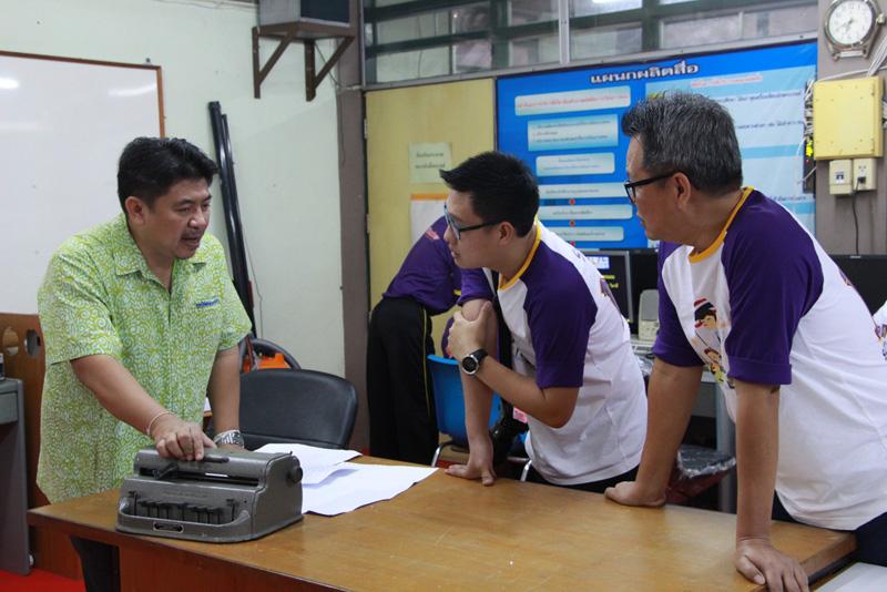 เก๊าซอมพอจูเนียร์ ต้อนรับทีมงาน SCB challenge ในโอกาสติดตาม การดำเนินโครงงาน Brailler for the blind