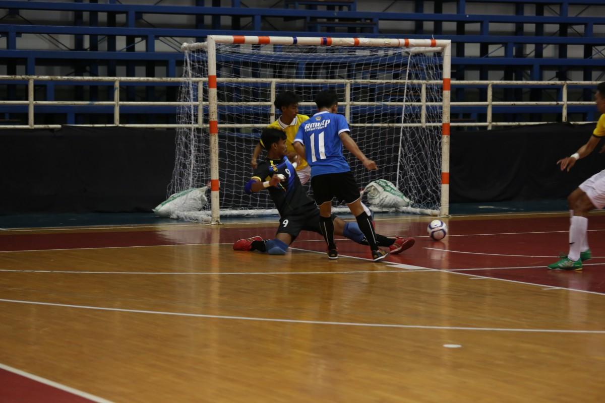 การแข่งขันฟุตซอล ประเภททีมชาย รอบแรก มทร.พระนคร-มทร.ศรีวิชัย