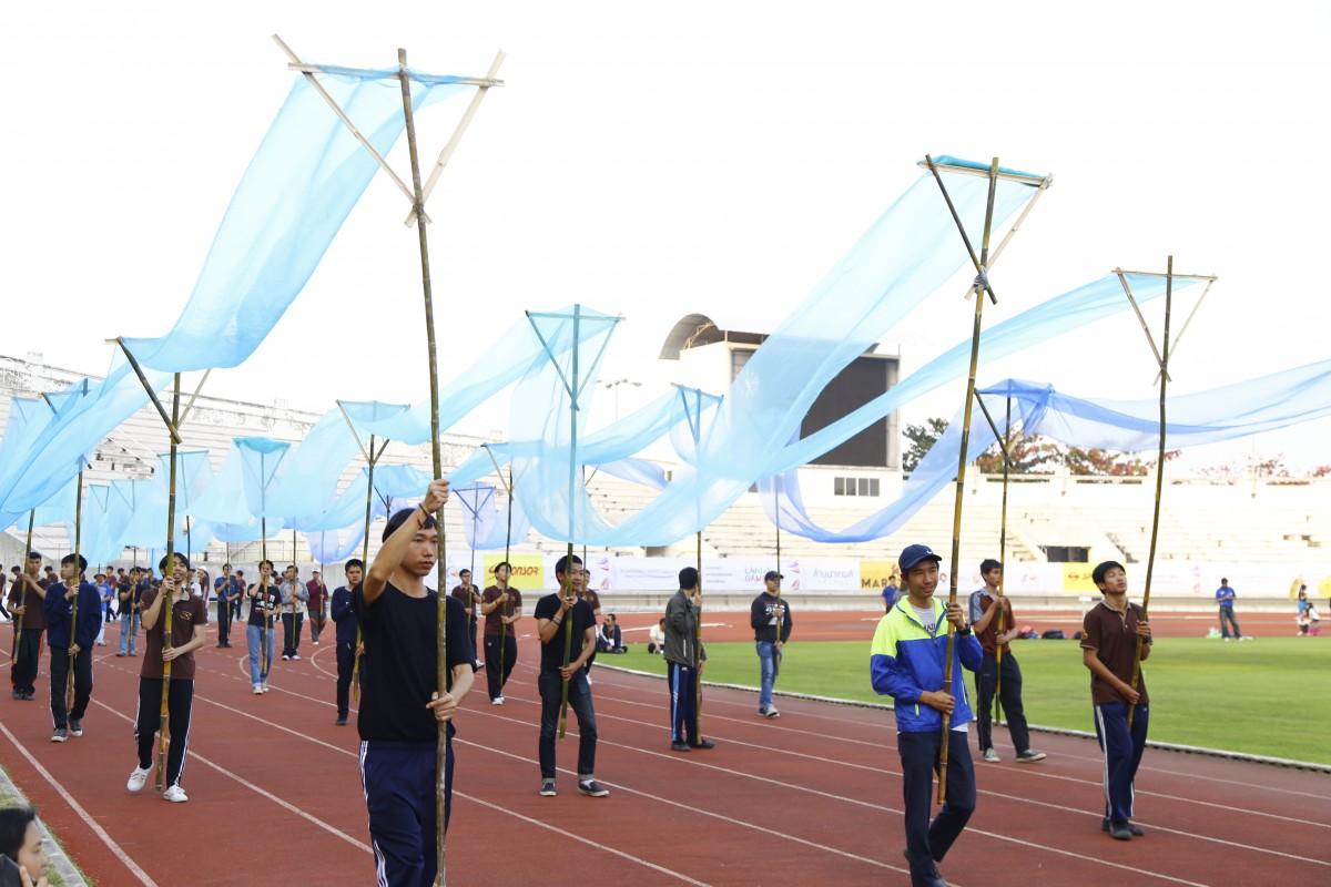 มทร.ล้านนา เตรียมพร้อมชุดการแสดงต้อนรับคณะนักกีฬาจาก มทร. ทั่วประเทศ
