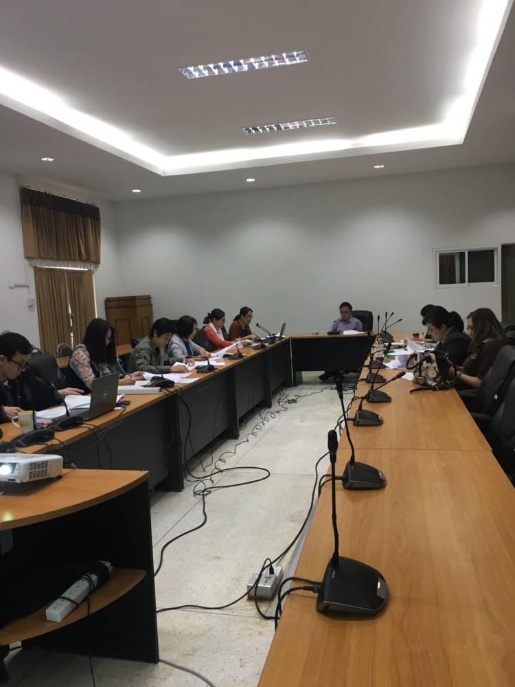งานวิชาการ จัดการประชุมพิจารณาอนุมัติผลสำเร็จการศึกษา ประจำภาคการศึกษาที่ 2/2560