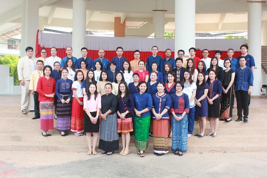 มทร.ล้านนา เชียงราย รวมใจแต่งการชุดพื้นเมือง โครงการรณรงค์แต่งกายด้วยชุดพื้นเมืองหรือผ้าไทยในองค์กร
