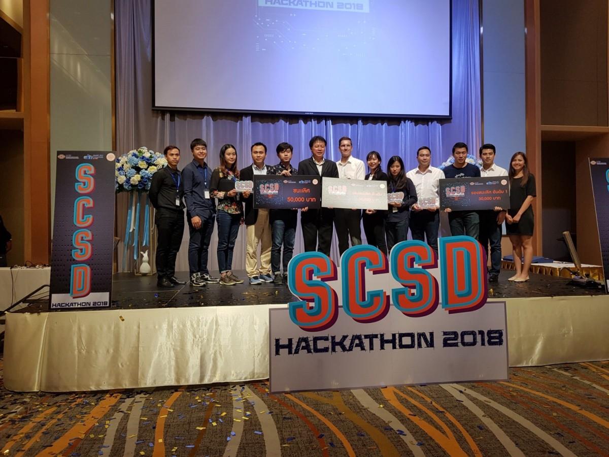 อาจารย์ มทร.ล้านนา เชียงราย คว้ารางวัลชนะเลิศจากการแข่งขัน SCSD : HACKATION 2018