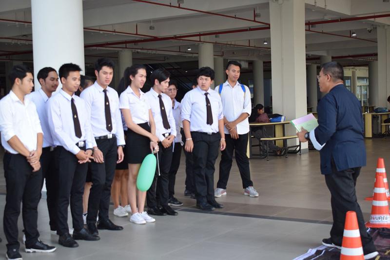 ผู้นำนักศึกษา มทร.ล้านนา ลำปาง ร่วมโครงการนักศึกษาแกนนำต้านยาเสพติดในสถาบันอุดมศึกษา