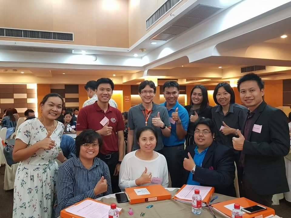 คณาจารย์หลักสูตรภาษาอังกฤษเพื่อการสื่อสารสากลและหลักสูตรการท่องเที่ยวและการบริการ เข้าร่วมอบรมคณาจารย์สหกิจศึกษา รุ่นที่ 2