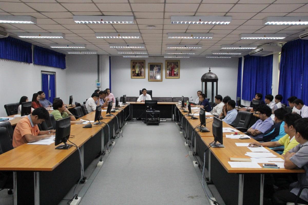 ประชุมแผนกิจกรรมนักศึกษา ประจำปีการศึกษา 2561