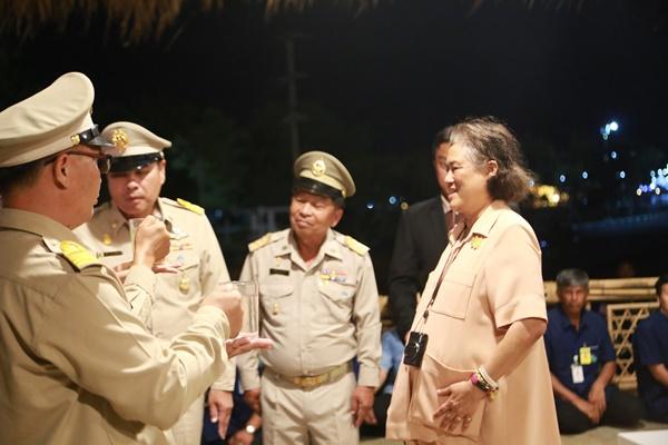 เฝ้ารับเสด็จสมเด็จพระเทพรัตนราชสุดาฯ สยามบรมราชกุมารี ในการเสด็จพระราชดำเนินทรงปฏิบัติพระราชกรณียกิจในพื้นที่จังหวัดพิษณุโลก