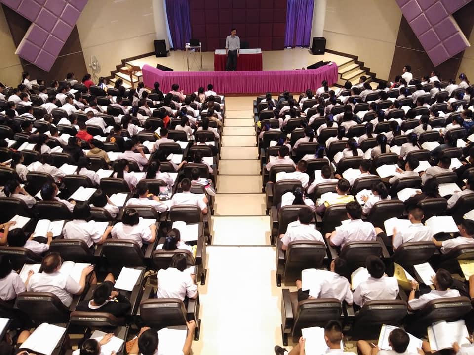 มทร.ล้านนา ลำปาง ได้รับเกียรติเป็นเจ้าภาพสถานที่ โครงการยกผลสัมฤทธิ์ฯ ติวเข้มนักเรียน ม.6 กว่า 10 โรงเรียน รวม 300 คน