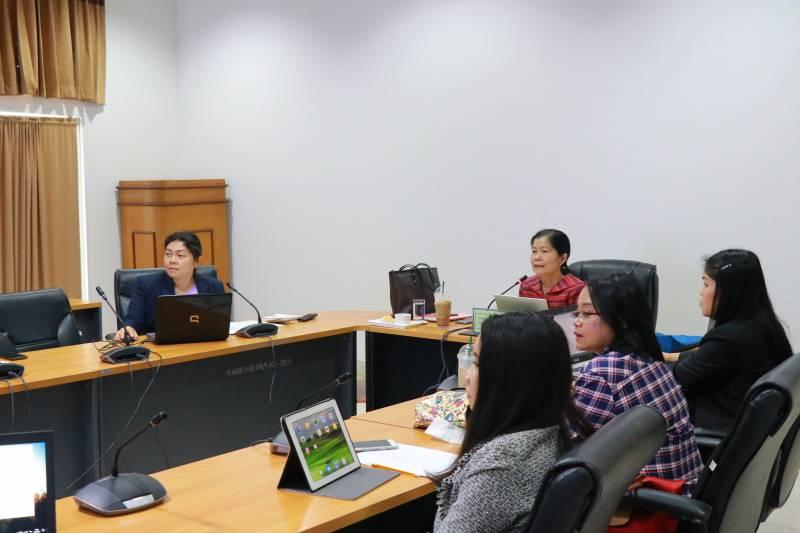 งานประกันคุณภาพการศึกษา จัดการประชุมโครงการประเมินคุณภาพการศึกษาภายใน : การติดตามและวิพากษ์เล่มรายงาน ประจำปีการศึกษา 2561