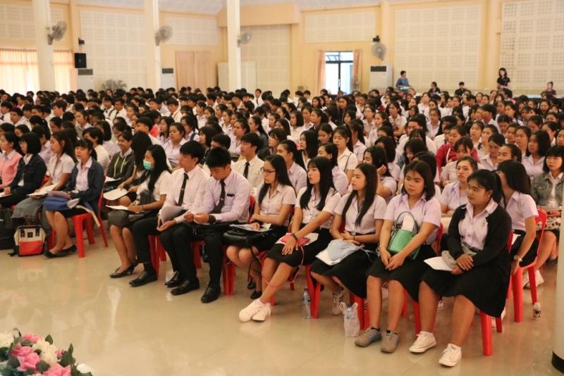 มทร.ล้านนา ลำปาง จัดงานปฐมนิเทศนักศึกษา ปีการศึกษา ๒๕๖๑ เพื่อให้นักศึกษาปรับตัวในการใช้ชีวิตในรั้วมหาวิทยาลัยฯ อย่างมีความสุข