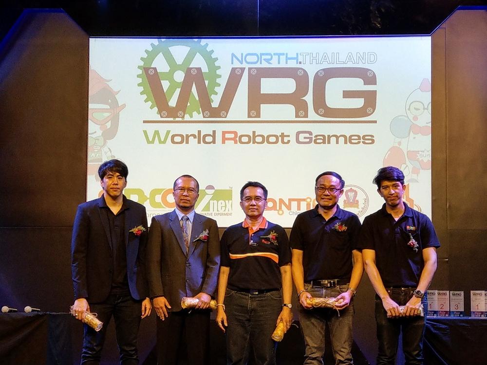 ดร.ประเสริฐ ลือโขง เป็นประธานเปิดการแข่งขันรายการ World Robot Game North Thailand 2018 ( WRG 2018 ) ณ ศูนย์การค้าพันธุ์ทิพย์เชียงใหม่