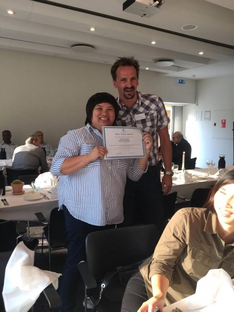อาจารย์สาขาวิชาการตลาดนำเสนอผลงานวิชาการ ในการประชุมวิชาการนานาชาติ ได้รับรางวัลบทความดีเด่น