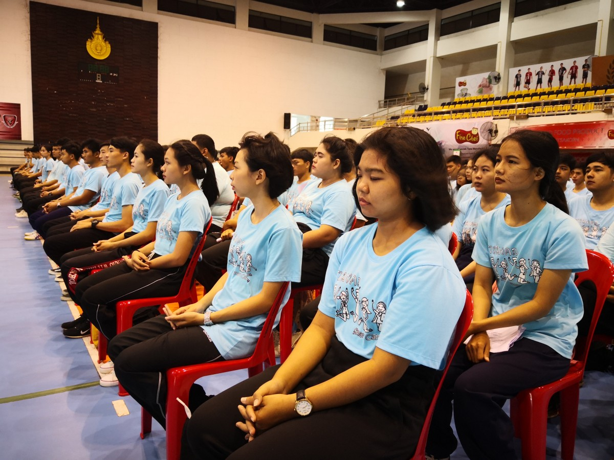 โครงการ ปฐมนิเทศและอบรมจริยธรรมนักศึกษาใหม่  ประจำปีการศึกษา  2561