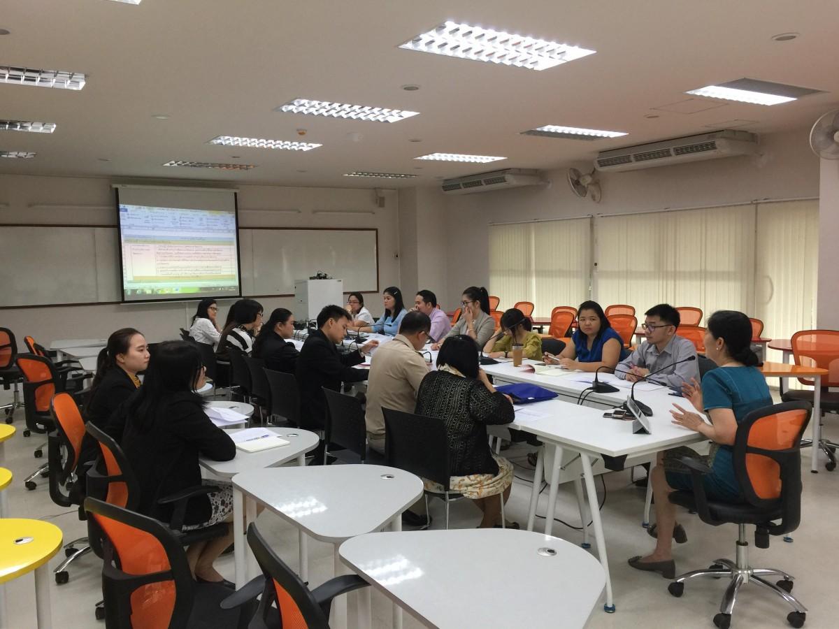 ประชุมติดตามผลการดำเนินงานการประกันคุณภาพการศึกษาภายใน ระดับสถาบัน ปีการศึกษา60