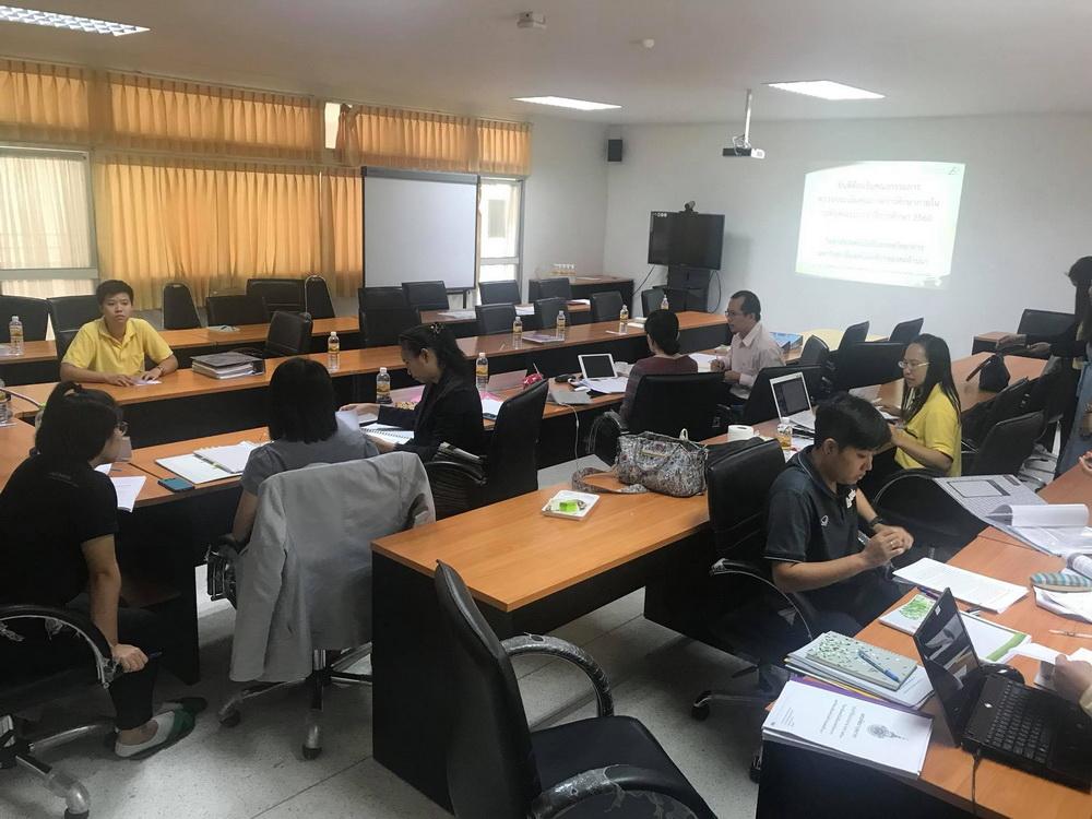 วิทยาลัยเทคโนโลยีและสหวิทยาการ เข้าร่วมโครงการตรวจประกันคุณภาพการศึกษาภายใน ระดับคณะ ประจำปี 2560